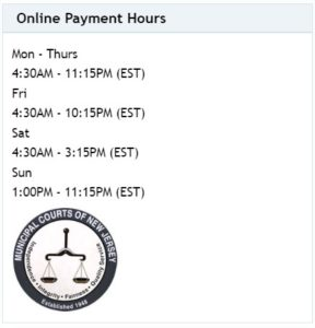 njmcdirect payment hours